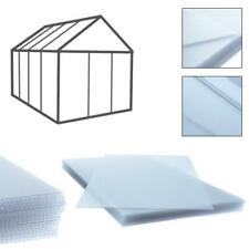 Doppelstegplatten Gewächshaus Hohlkammerplatte 14x Polycarbonat Stegplatten