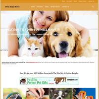 Best Affiliate Home Make Money! Online Pet Care Store Website Business For Sale!