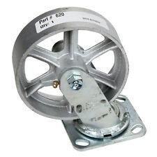 PREMIER MANUFACTURING 620 - Caster Assy. (Swivel) 6a?? Steel Wheel (622, 625 Inc