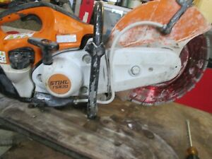"Stihl TS420 Gas Powered 14""  Concrete Cut-Off Saw w/ Water Kit and diamond blade"