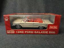 1963 FORD GALAXIE 500 - SUN STAR - METAL DIE CAST - SCALE 1:18 - L13 - FL