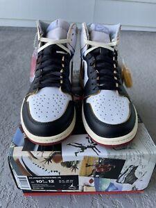 Jordan 1 High Union LA Black Toe Size 10.5 Dead Stock BV1300-106