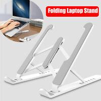 Adjustable Foldable Laptop Stand Fr Desk Portable Notebook Riser Computer Holder