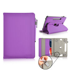 """360° Universal 7"""" Inch PU Leather Wallet Case Cover Stand For Android Tablets"""