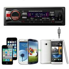 Car Bluetooth Audio Stereo In Dash AM FM Aux Input Receiver with SD USB MP3