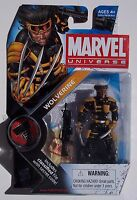 MARVEL UNIVERSE MINIS WOLVERINE ACTION FIGURE NO. 027. NEW ON CARD. H.A.M.M.E.R.