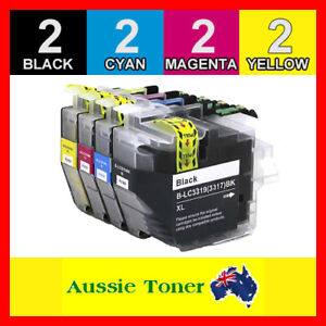 8x Ink Cartridges LC3319XL for Brother MFC-J5330DW MFC-J6730DW MFC-J5730DW