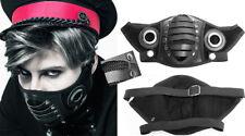 Gothic Steampunk Gas Mask Warrior Bondage Studded Leather Eyelet PunkRave Men