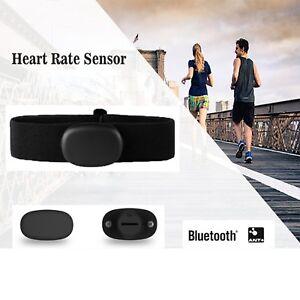 Sport Bluetooth 4.0 ANT+ Heart Rate Sensor Brustgurt Fitness für Suunto Garmin