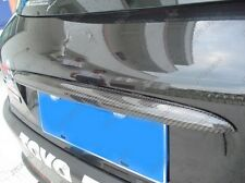 Carbon Fiber Rear Hatch Decorative Panel for 1998-2012 2003 2005 Peugeot 206
