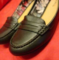 Call It Spring Delcid Cognac Black Loafers Women's 8.5 M New