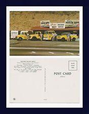 CALIFORNIA SAN YSIDRO WESTERN TRAILER SUPPLY TRUCK FLEET AND TRAILERS CIRCA 1960