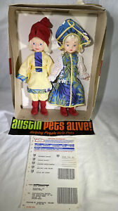 """Vintage 1990s Auth Russian Dolls, 11"""", Sold by HSN with Original Box and Receipt"""