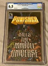 Punisher Kills the Marvel Universe #1 CGC 6.5 White Pages Marvel Comics 11/95
