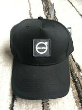 NEW Volvo Iron Mark Rubber Patch Black Reflective Hat FAST SHIP! Swedish Flag!!!