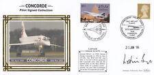 (08234) GB/ Maldives Benham Cover Concorde Captain Signed Leslie Scott 2004 2006