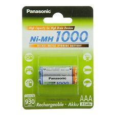 Panasonic AAA Akku 1000 Ni-MH Micro 1,2V HHR-4DPA HHR-55AAABU HHR-65AAABU Accu