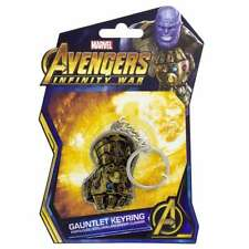 OFFICIAL MARVEL AVENGERS INFINITY WAR THANOS GAUNTLET METAL KEYRING KEYCHAIN