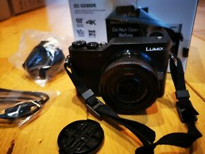 Panasonic Lumix dc-gx800k with lens