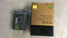 Original EN EL15A Battery For Nikon D850 D7500 D750 D810 D7200 D7000 D7100