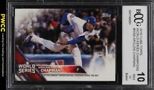 2016 Topps Cubs World Series Champions Aroldis Chapman BCCG 10 (PWCC)