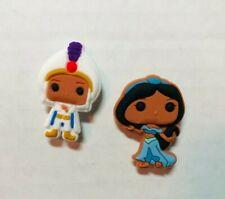 Aladdin & Princess Jasmine Shoe Charm Set