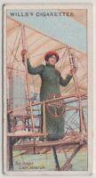 First Woman Aviator Baronesse Delaroche  Flying Pioneer 100+ Y/O Trade Ad  Card
