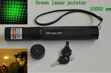 [Latest] TERBAKAR POWER Strong Laser pointer 532nm Flashling SD 303