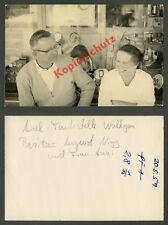 orig Foto Wallgau ARAL-Tankstelle August Nigg Schaufenster Reklame Pertrix 1959!