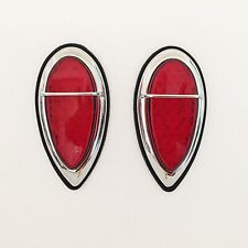 Hot Rod 1938-39 Ford 'Tear Drop' L.E.D. Tail lights with Body Gaskets- 1 PAIR