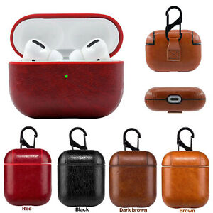 New Leather Soft Skin Case For Apple Airpods Pro 2 1 Gen Earphones PU Cover