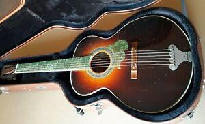 Vintage Acoustic Guitar Japan Rare 1960? Nagoya Gakki Metoro Collectible MIJ