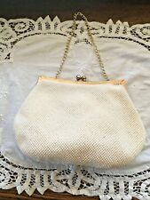 Vintage Pearl and Gold bag