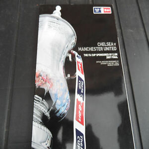 FA Cup Final   2007  Programme  Chelsea v Manchester United  EXCELLENT CONDITION