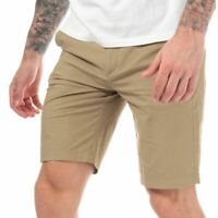 Men's Timberland Squam Lake Stretch Zip Fly Straight Fit Chino Shorts in Green