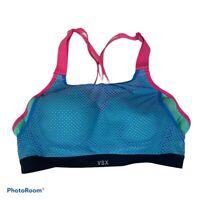 Victoria's Secret VSX Sport Women's Multicolor Mesh Sports Bra 34b