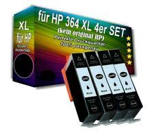4x Drucker Patronen mit Chip für HP 364 XL Photosmart 5510 5515 5520 6510 6520BK
