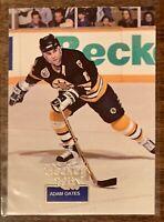 1994-95 Hockey Wit #5 ADAM OATES BOSTON BRUINS