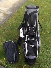Golfbag Tommy Armour inkl. Regenhaube, mit Herren Eisensatz (PW, SW, 6-9)