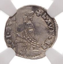 ITALY, Venice. Lorenzo Celsi, 1361-5, Silver Soldino, NGC AU50