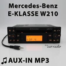 Mercedes Audio 10 CD MF2910 AUX-IN MP3 W210 Autoradio E-Klasse S210 CD-R Radio