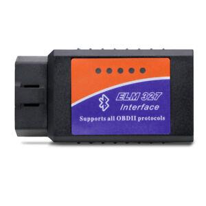 ELM 327 OBD2 Bluetooth Wireless Car Diagnostic Scanner