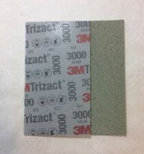 1 x 3M 51261 Trizact Feuille Abrasive Hookit Flexible P3000 -  80 x 140 mm