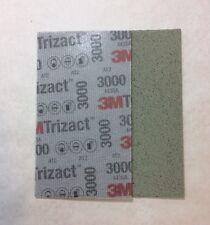 3M 51261 Trizact Feuille Abrasive Hookit Flexible P3000 -  80 x 140 mm