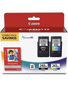 Canon PG-240XL/CL-241XL/GP-502 Black Tri-Color Ink Cartridge