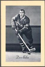 1944-63 Beehive Hockey Premium Group 2 Photo Montreal Canadiens #221 Dave Balon