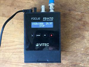 VITEC Focus FS-H70 SDI Portable Mp4 Recorder LIVE STREAM Wi-Fi Adapter