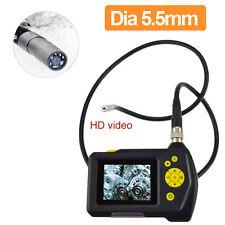 "2.7"" TFT LCD Video Borescope Car Pipe Inspection Camera Endoscope 360° H2"