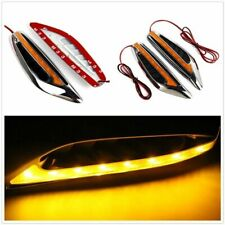 2Pcs Universal Car Auto Steering Light Led Turn Signal Fender Side Lights 12V