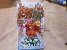 Marvel Comics Alpha Flight Sasquatch Vindicator action figures 1999 Toy Biz NEW!